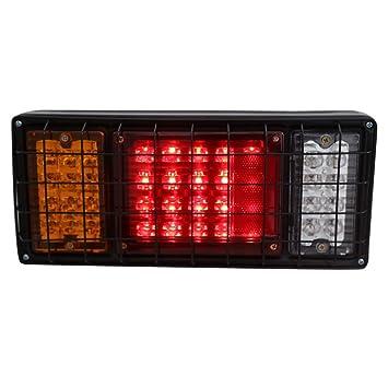 QXXZ 40 LED Trailer Truck Rückleuchten Bar Hohe Helligkeit mit 5 ...