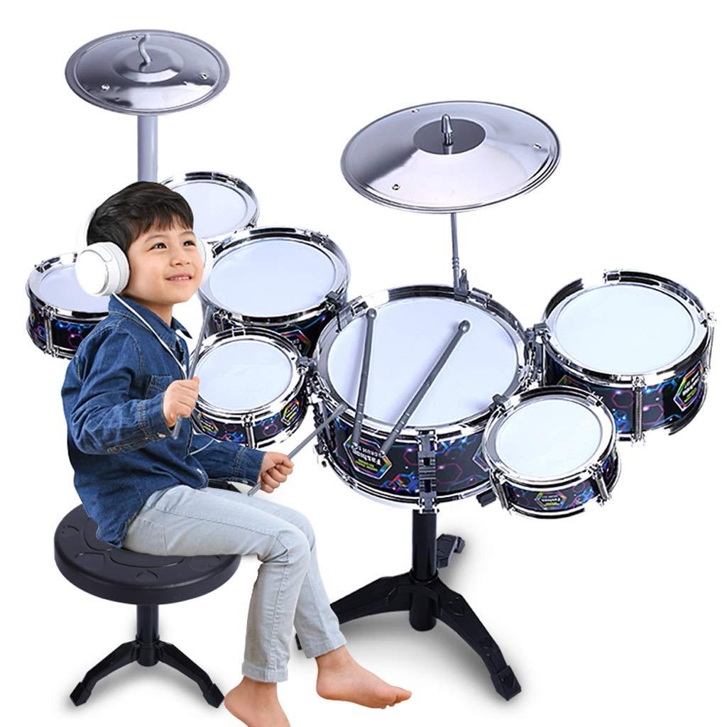 素晴らしい外見 LIUFS-ドラム ジャズドラムパズル玩具ビートドラム7ドラムクールブラックシックニング鼓膜 (色 LIUFS-ドラム : (色 黒) 黒 : B07LBFNJ6P, 【健脚自慢】足と靴の悩みを解決:1b7fd1ce --- a0267596.xsph.ru