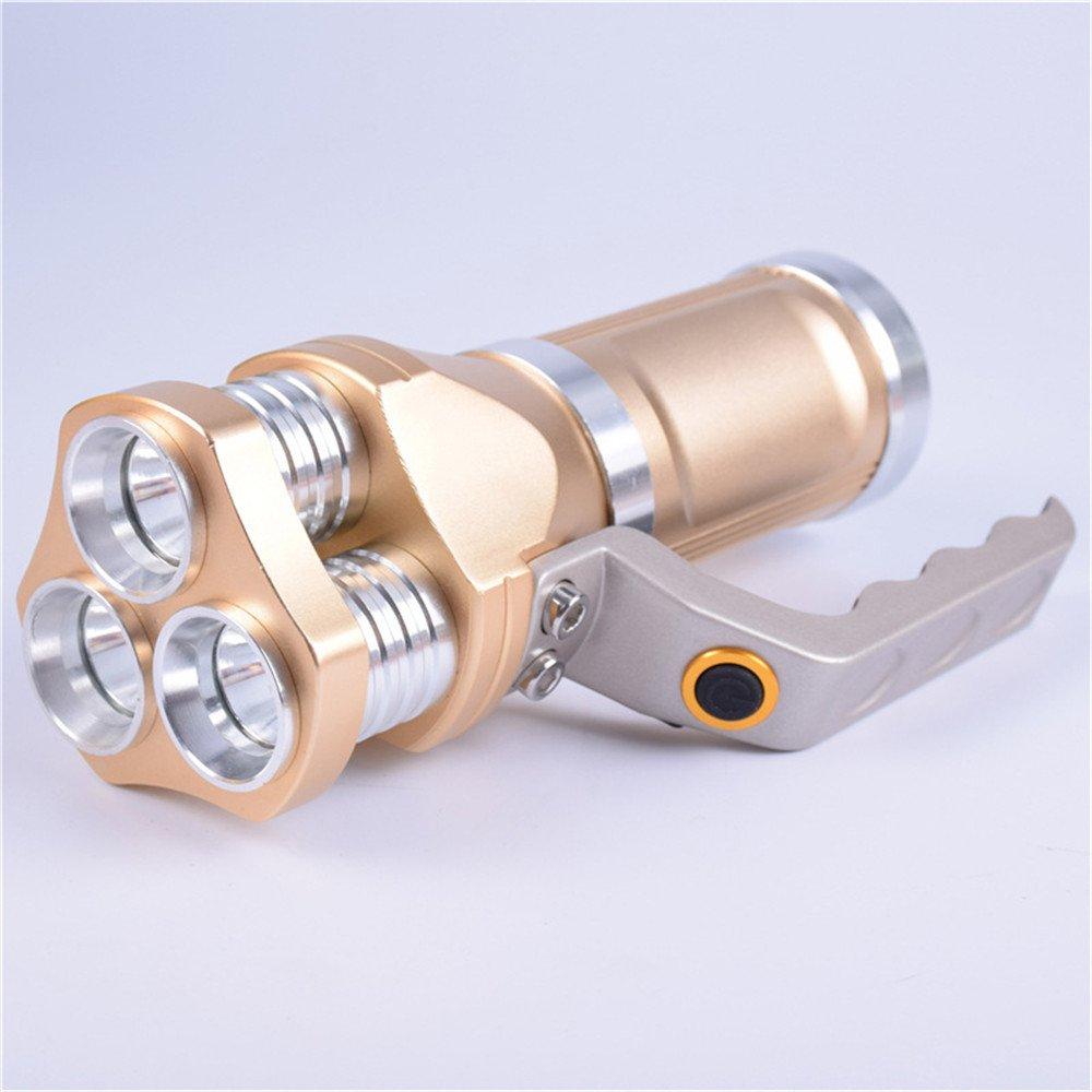 Multifunktions Blendlicht Taschenlampe Scheinwerfer Hervorgehoben Tragbares Licht Chargeable Led Remote Suche Lange Schüsse Einstellbare Focus Torch