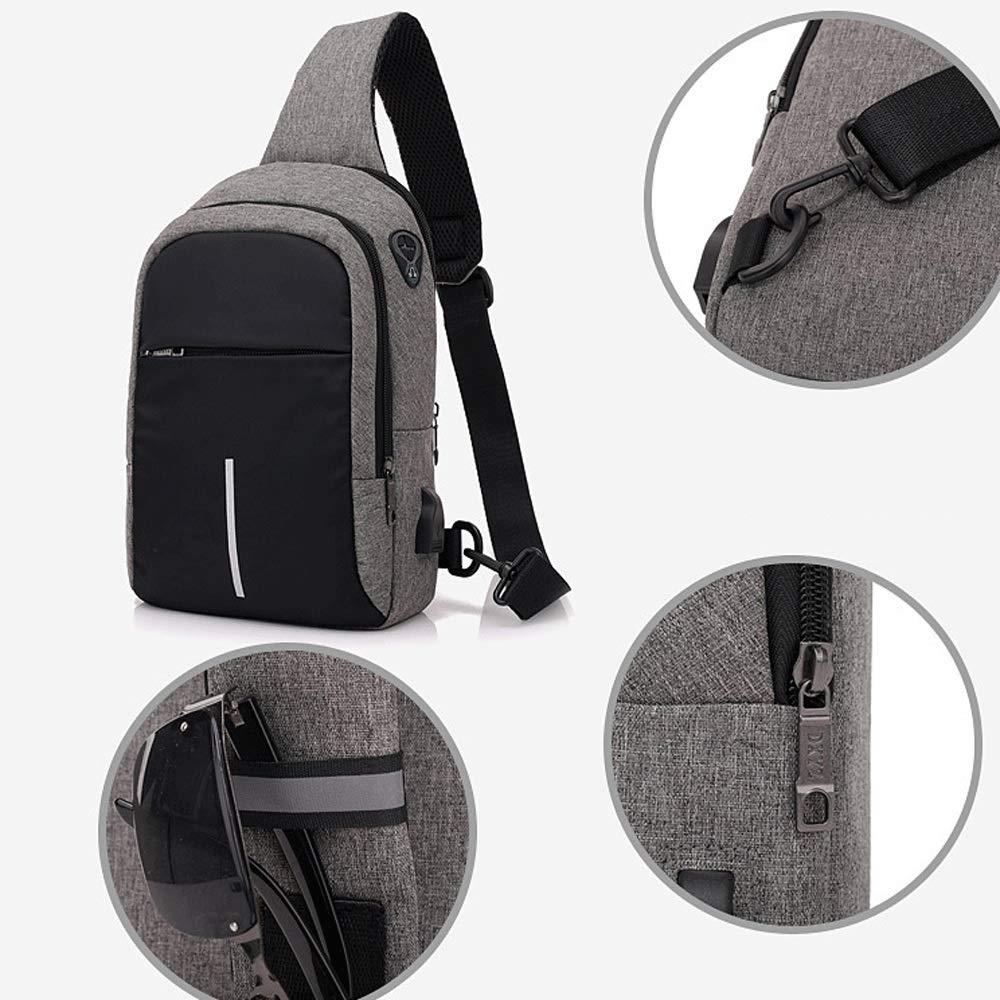 Drawstring Backpack Samurai Skull Shoulder Bags