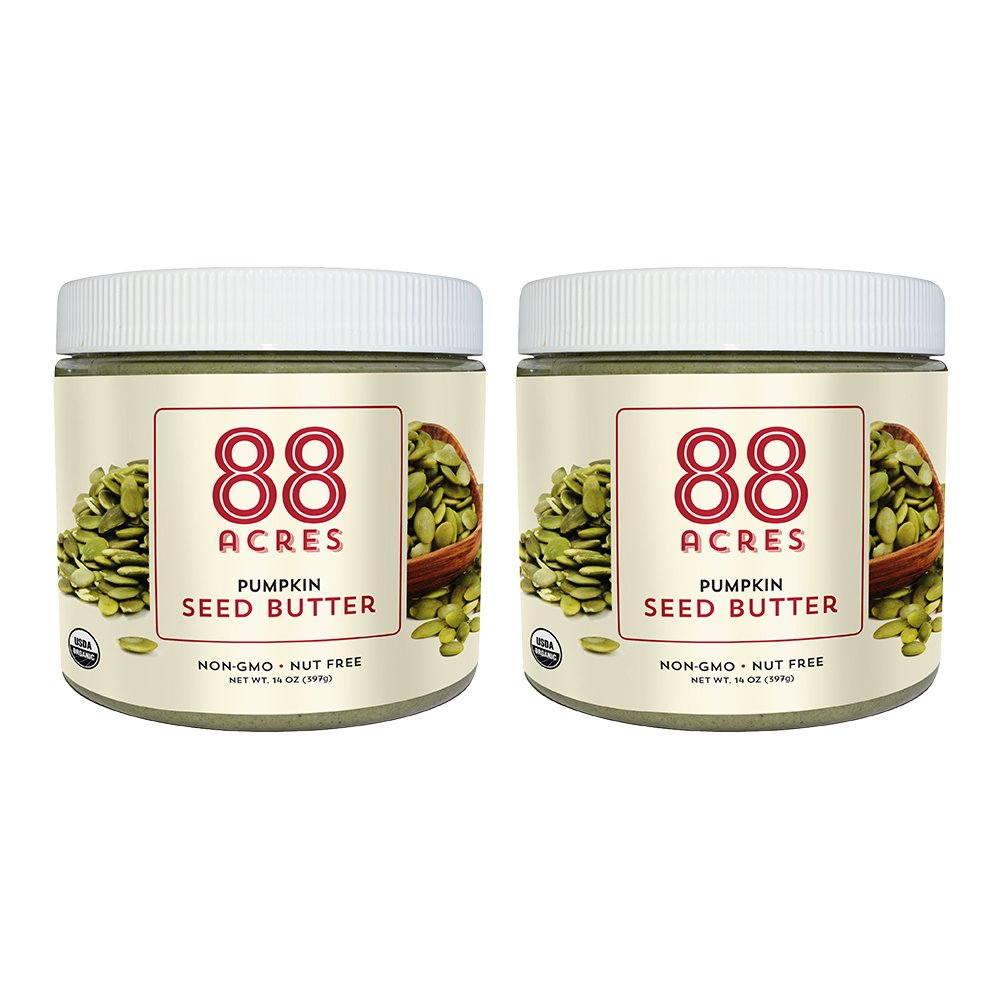 88 Acres Organic Seed Butter - 2 Pack (Pumpkin Seed)