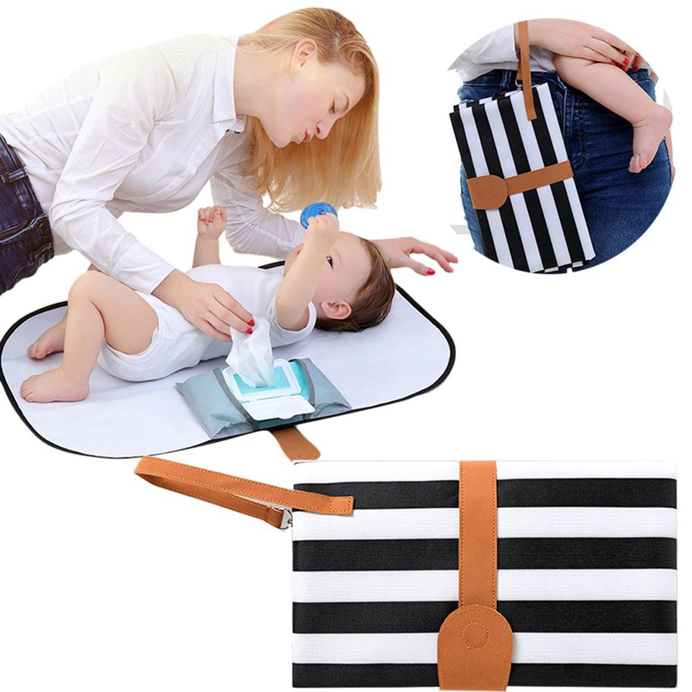 Pawaca Diaper with Changing Pad for Baby Infants and Toddlers,Portable Infant Diaper Pad,Pad-Diaper Change Pad Large Size,Portable Baby Pad Station,Multi-Function Storage Bag for Travel Changing Mat.