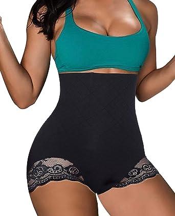 ddea209cbb Bafully Women Underwear Tummy Control Shapewear Slimming Waist Firm Body  Shaper Seamless Panties  Amazon.co.uk  Clothing