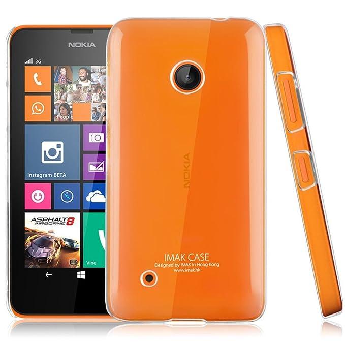 Heartly Imak Crystal Transparent Thin Hard Back Case Cover for Nokia Lumia 530