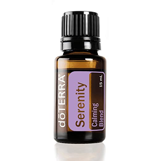 doTERRA - Serenity Essential Oil Restful Blend - Promotes Relaxation and Restful Sleep Environment, Lessens Feelings of Tension and Calms Emotions; for Diffusion or Topical Use - 15 mL