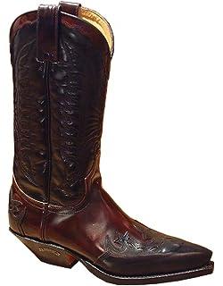 Details zu NEU SENDRA Herrenschuhe 4660 Stiefeletten Herren Stiefel Cowboystiefel Leder