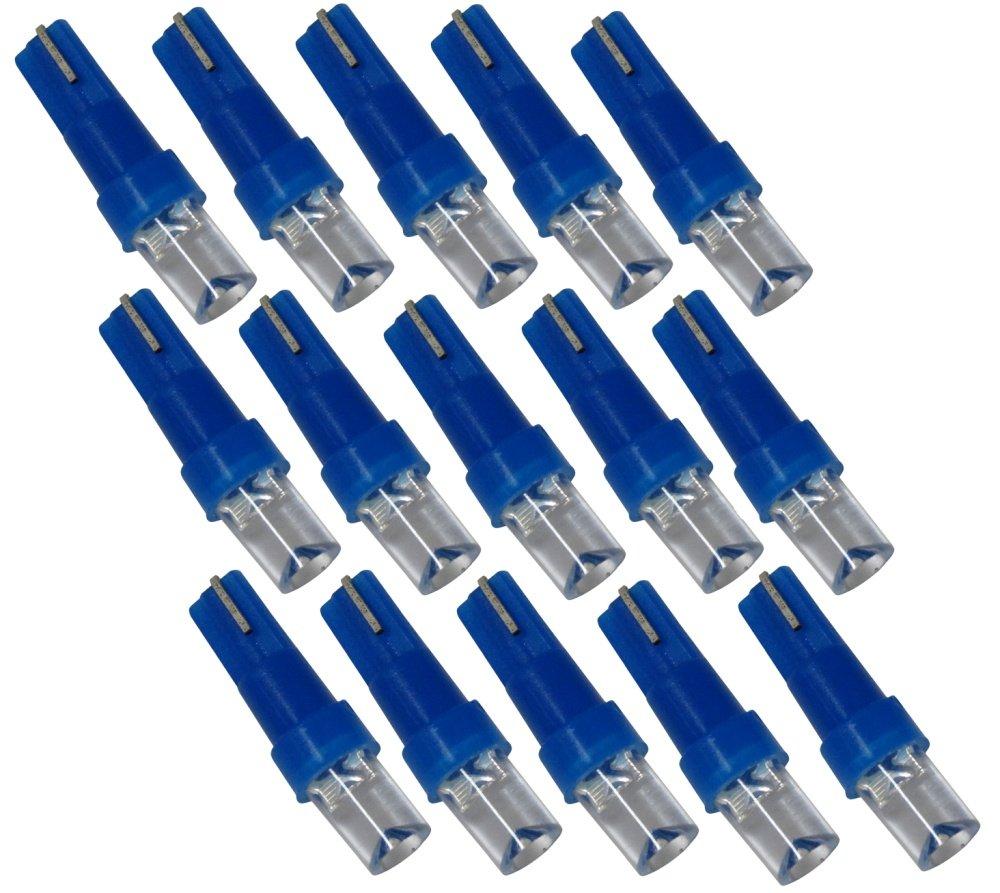 AERZETIX Lot de 15 ampoules T5 /à LED lumi/ère bleue