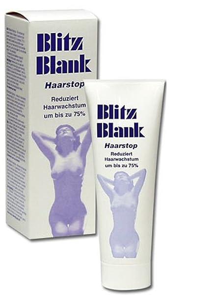 Pelo Stop Crema depilatoria Reduce el pelo de crecimiento hasta un 75%.