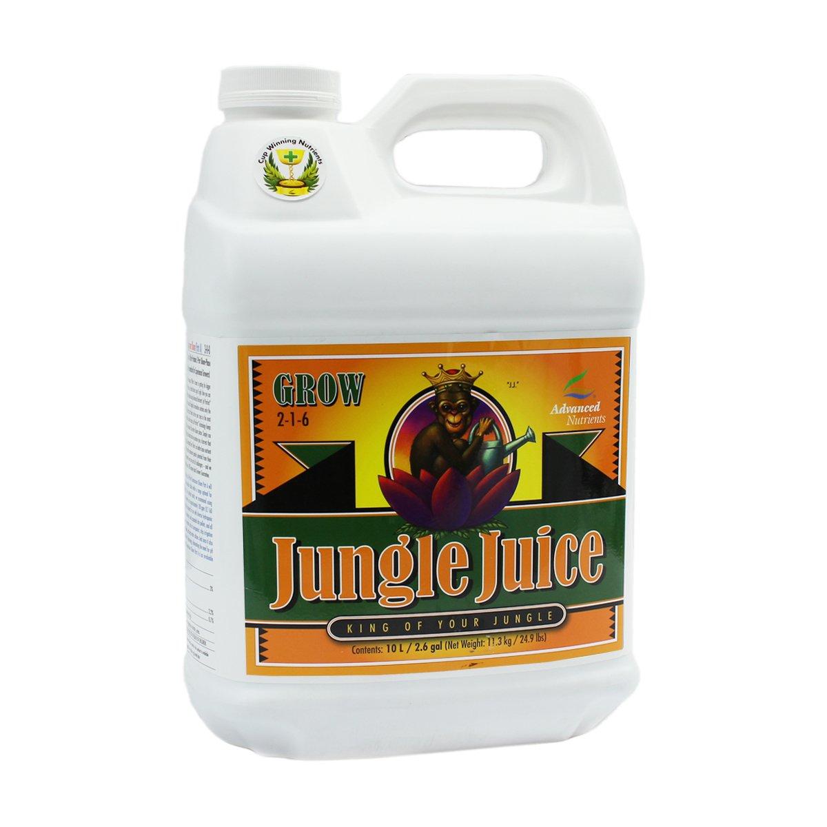 Advanced Nutrients 1725-16 Jungle Juice Grow Fertilizer, 10 Liter, Brown/A