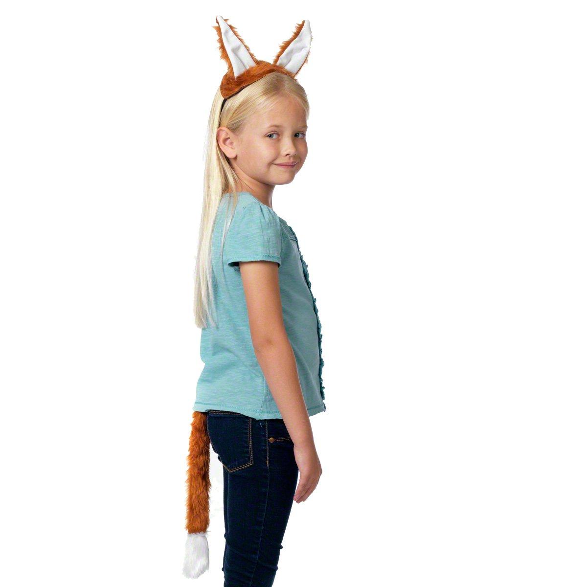 Taille unique 3-12 Queue et les oreilles ans. D/éguisement Renard pour les enfants