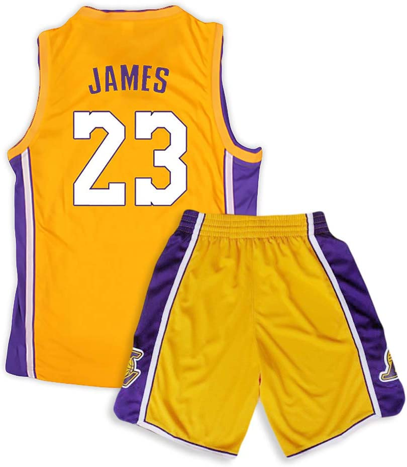 Camiseta de baloncesto Lakers Lebron James Kobe Bryant Fans de la ...