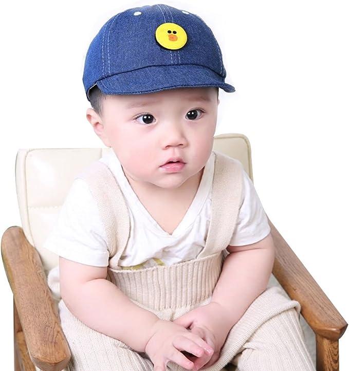 Sombrero para Bebé Gorras de Béisbol Niñas Niños Gorro Mezclilla ...