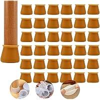 Pies de la silla Cover-32PCS Muebles Silla Patas Tapas, Silicona Silla Protectores de Piernas Antideslizantes Patas…