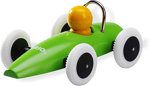 Brio Classic Wooden Race Car Green