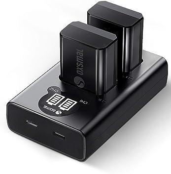 Oxsmal Np Fw50 Kamera Akku Für Sony Alpha 6000 6500 Kamera