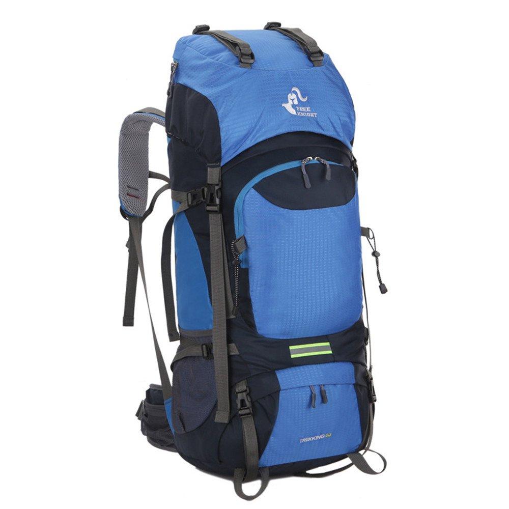 60L Outdoor Rucksack Wasserdicht Klettern Wandern Bergsteigen Rucksack Männer Frauen Trekking Reise Berg Sporttasche Rucksack B07MCT5ZGF Wanderruckscke Einzigartig