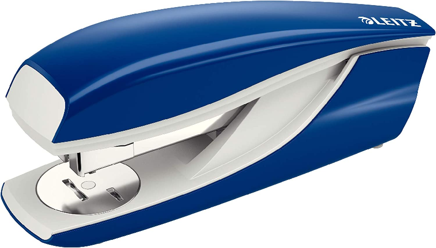 Leitz Next 5522 Stapler 40 Sheet Capacity for 24/6, 24/8 and 26/6 Staples - Blue