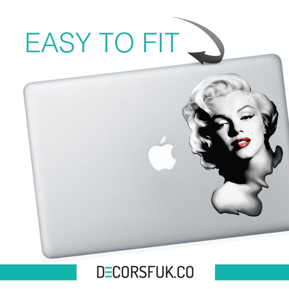 MacBook Air /Winter is Coming/ decorsfuk.co Marilyn Monroe MacBook Aufkleber/ /House of Stark//Schwarz Vinyl//Notebook//Laptop Artwork-Design//Apple Aufkleber MacBook Pro