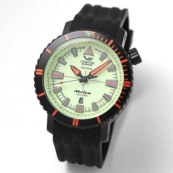 8a39dc4695f7 Vostok europe - Reloj de caballero nh35a-5554234  Amazon.es  Relojes