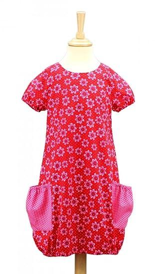 Schnittquelle Kinder-Schnittmuster: Kleid Milli (Gr.110-128 ...