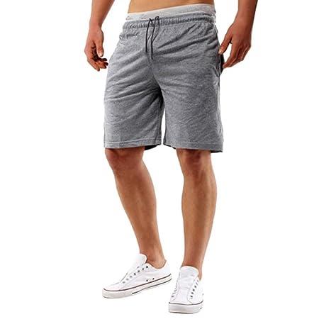 Longra☾☾ Pantalones de chándal Cómodos de Moda Simples ...