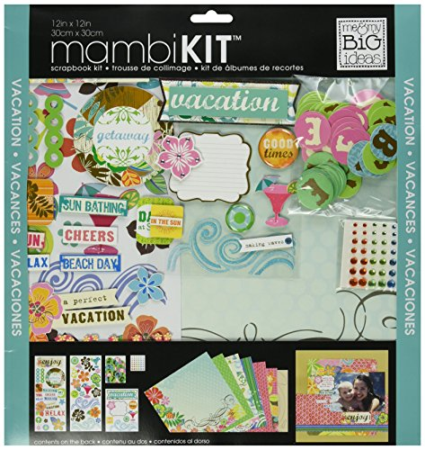Me & My Big Ideas Surf Shop Page Kit, 12 by (Paper Page Kit)