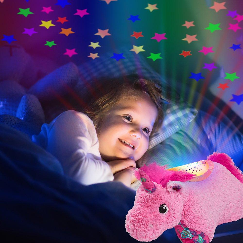 Pillow Pets Sleeptime Lites  Pink Unicorn