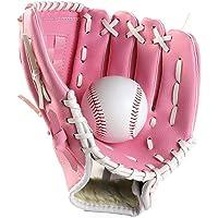Canjerusof 1PC Deportes Béisbol y Softbol Guante Profesional de béisbol y Softball Mitt con Soft PU sólida Engrosamiento…