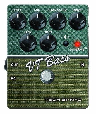 Tech 21 Character Series CS-VTB.2 VT Bass V2 Bass Expression Effect Pedal from Tech 21 USA, Inc.