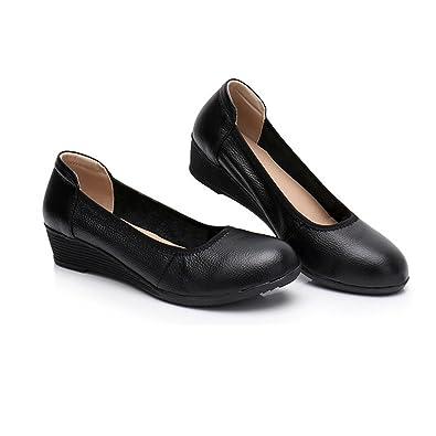 0c145bc49efd9 [サニーサニー] ナースシューズ パンプス 婦人靴 フラットシューズ ローヒール 柔らかい 歩きやすい 疲れ