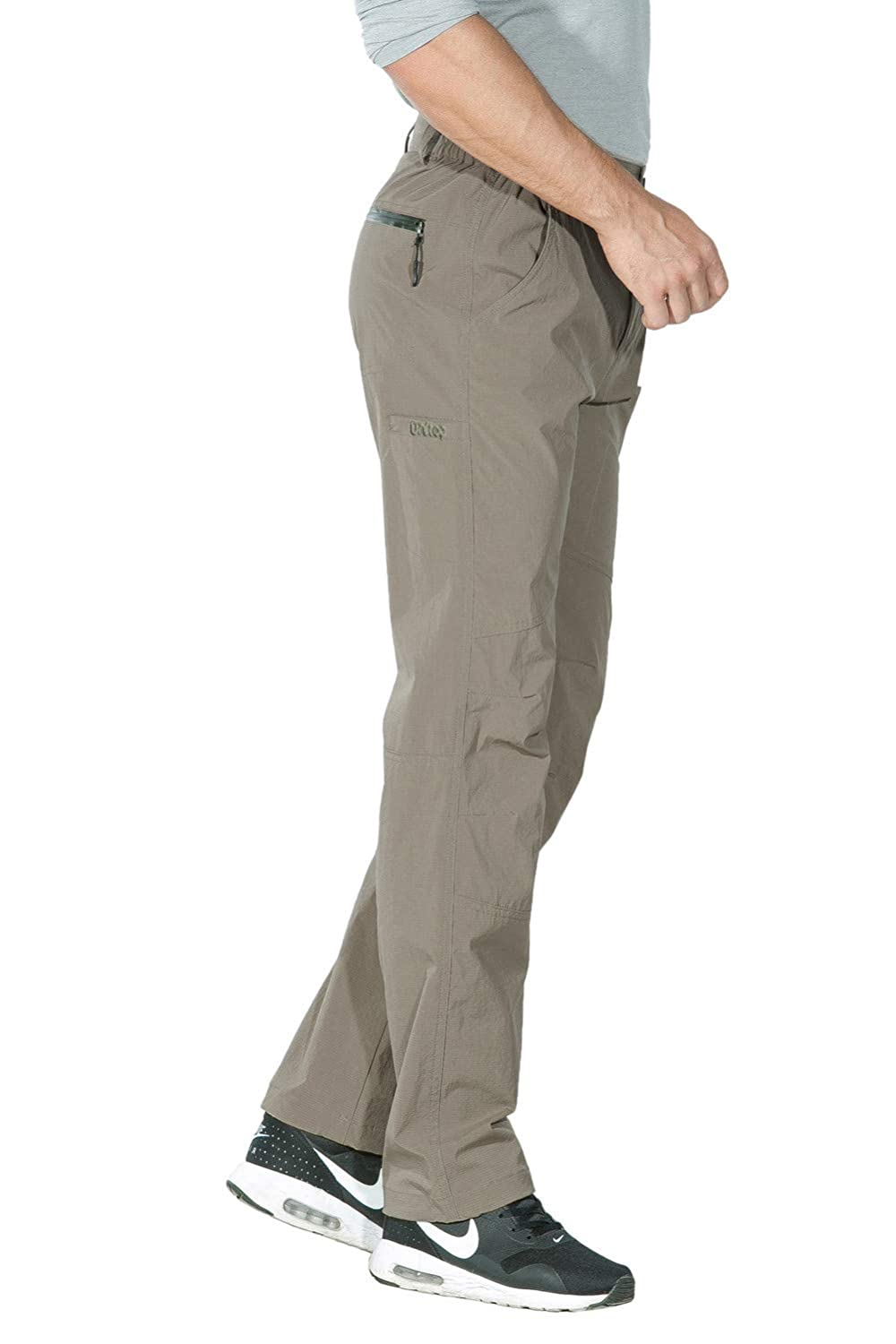 Unitop Mens Lightweight Water Resistant Quick Dry Hiking Cargo Pants UT7011
