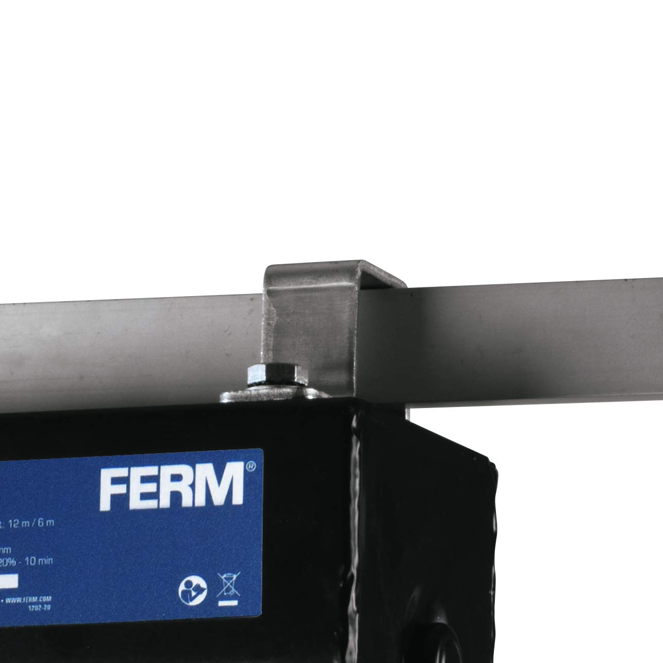 FERM Palan /à levier /électrique 500W Max avec c/âble non rotation et t/él/écommande 250 Kg