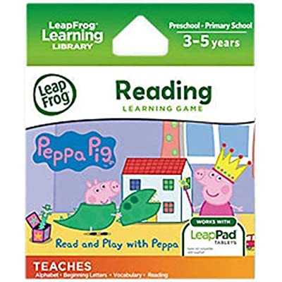 LeapFrog 490403 Leap Pad Peppa Pig Cartridge: Toys & Games