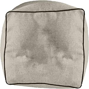 Regal In House Linen Floor Cushion Microfiber Filler - 65x65x40 - Light Beige