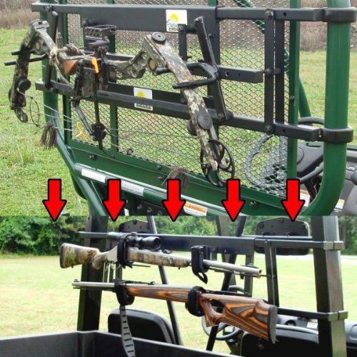 Great Day UVCCK701-700 Power-Ride Bow Rack Conversion Kit (Bow To Gun)