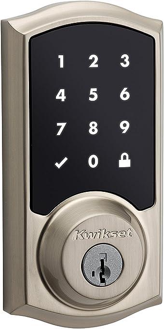 Kwikset SmartCode 916 pantalla táctil cerradura de seguridad con Z ...