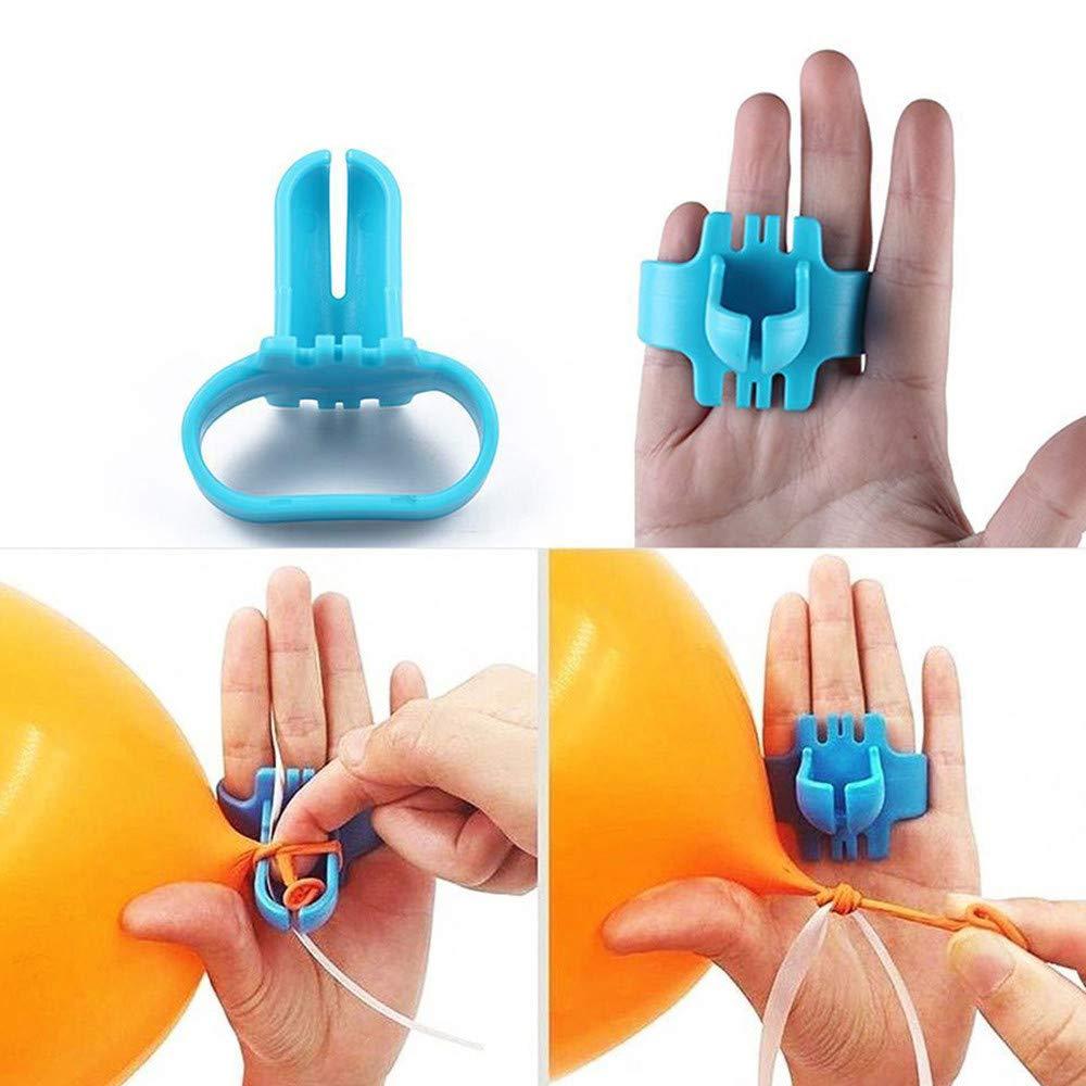 Latex Balloons Party Supplies Balloon Tie Knot Tying Tool Balloon Seal Easy