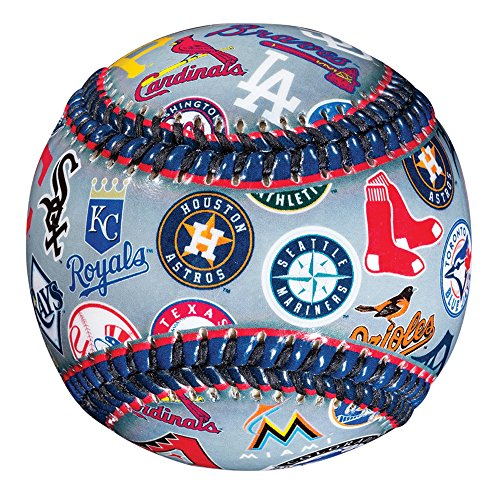 Cubs Logo Baseball - Franklin Sports MLB All Team Logo Ball