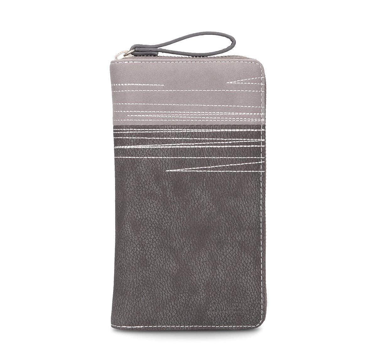 Zwei Cherie CH2 Rei/ßverschluss Geldb/örse Portemonnaie Geldbeutel Brieftasche Portmonee