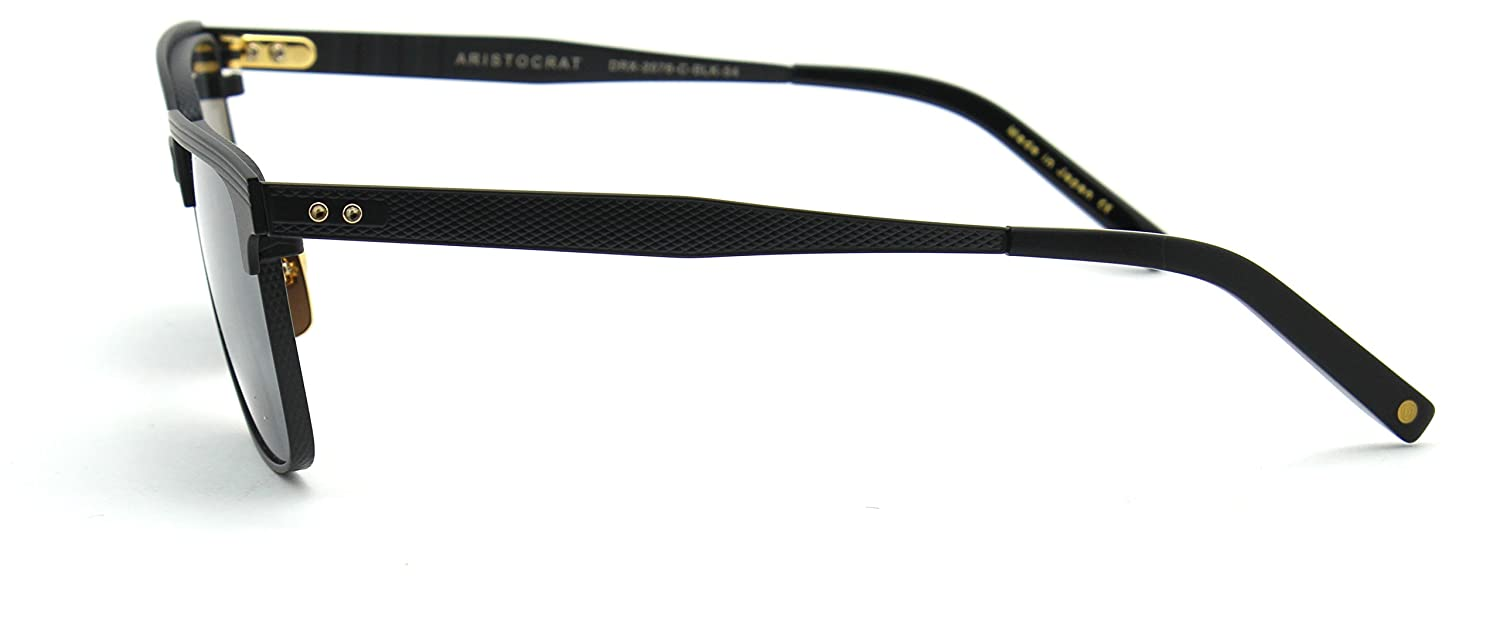 a8c5c1461584 Dita ARISTROCRAT Sunglasses Matte Black on Black DRX2076-C  Amazon.ca   Clothing   Accessories