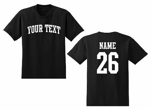 1b749c50f7a Amazon.com  The All Stop Shop Men s Custom Personalized T-Shirt ...