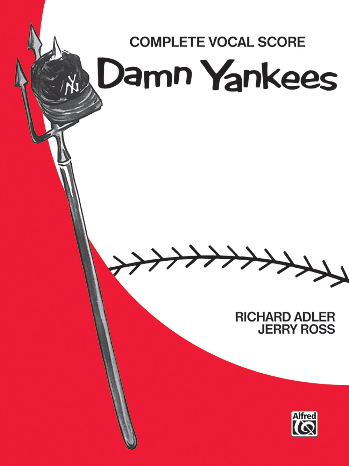 Damn Yankees Vocal Score Richard Adler Jerry Ross