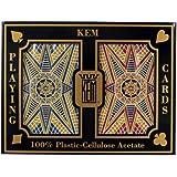 Kem Bridge Size Casino Club Stargazer Setup Playing Cards (Maroon/Blue)