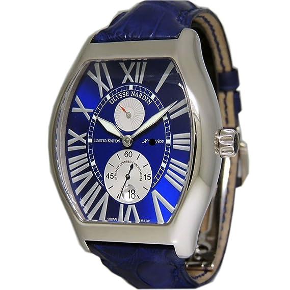 Ulysse Nardin Michelangelo gigante cronómetro swiss-automatic Mens Reloj 270 68 Le (Certificado) de segunda mano: Ulysse Nardin: Amazon.es: Relojes