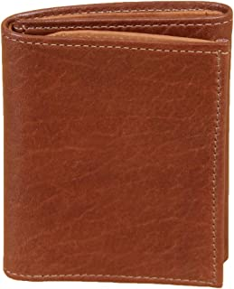 product image for Col. Littleton Full-Grain Leather Tri-Fold Wallet | Calfskin Lined | Made in USA