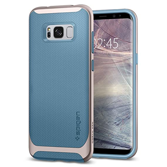 huge selection of 2826b 0a943 Spigen Neo Hybrid Designed for Samsung Galaxy S8 Case (2017) - Niagara Blue