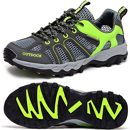 Outdoor Shoes Quick Lace Odema Men Ultrathin2 up Darkgreygreen Dry Shoes Aqua Shoes 0 Mesh Sneakers Water Hiking Y47RnY