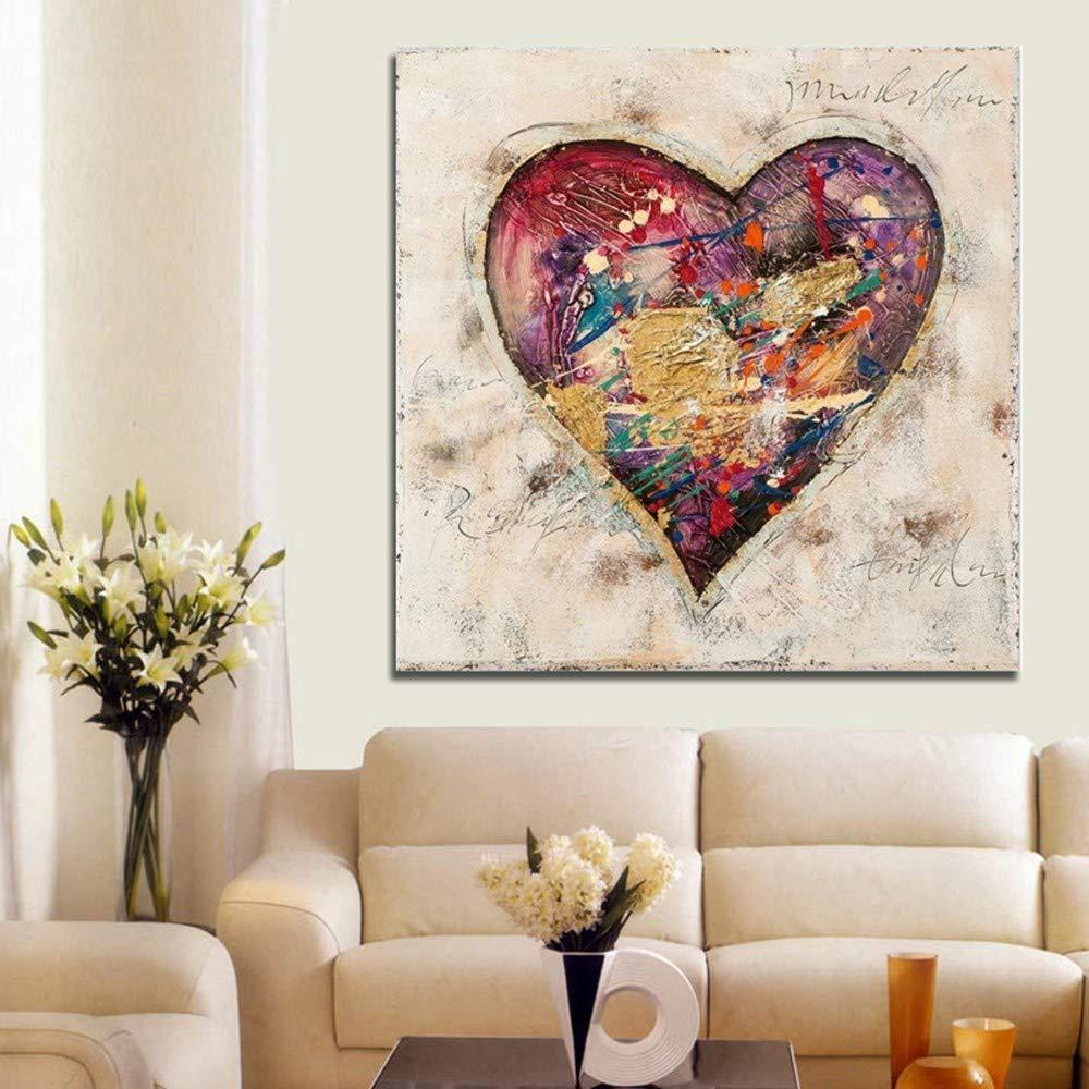 WHUI pintura al óleo Pintado a mano colorido pintura al a óleo sobre lienzo pintado a al mano Wall Art Picture For Living Room decoración del hogar 095c70