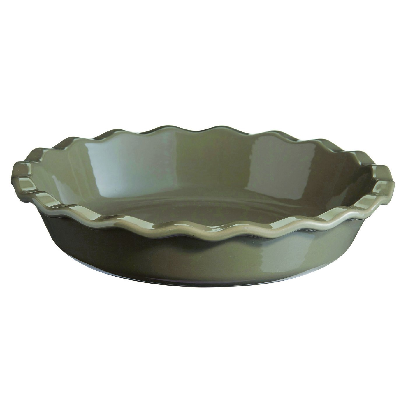 Emile Henry Flint, 9 inch Pie Dish, 9'' by Emile Henry