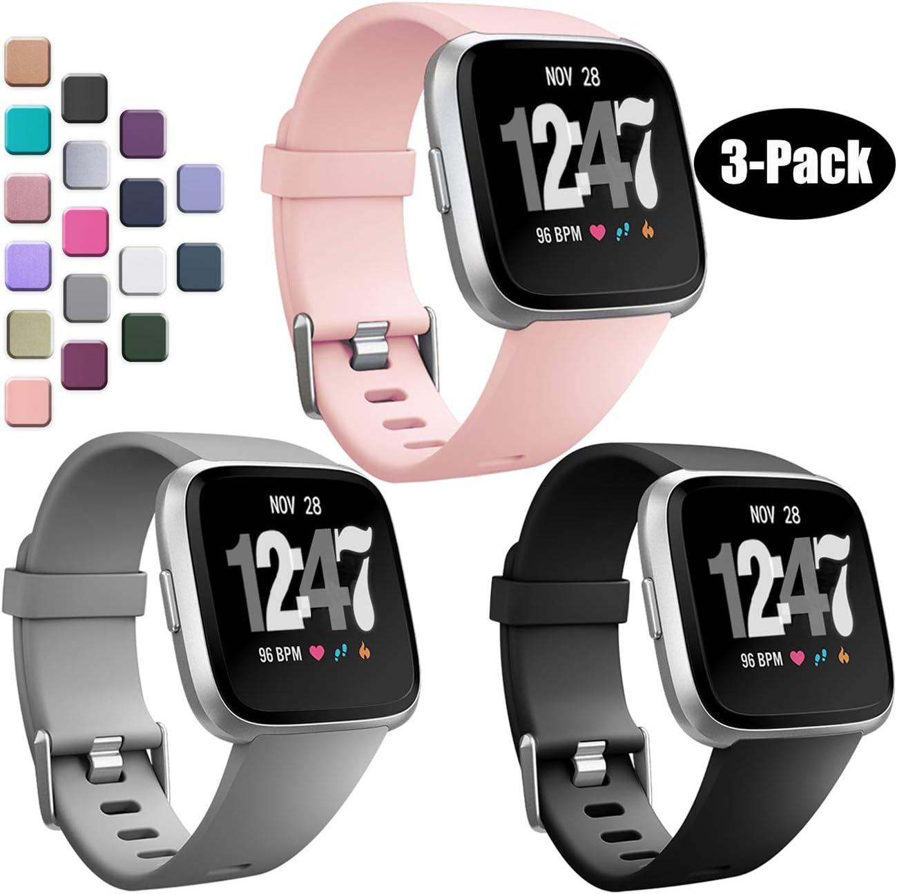 Bandas Wepro Compatibles Con Fitbit Versa/versa 2/lite 3u